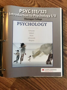 Introduction to Psychology 111