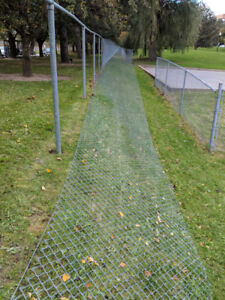 Chainlink Fencing $4 per linear foot.