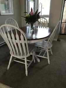 Refinished Dining Table and Chairs Set - $400 OBO
