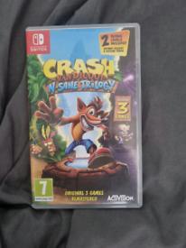 Crash trilogy switch game