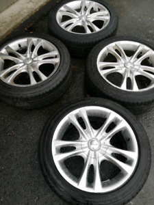 Goodyear Tires-205/50R17 Eagle Sport on Mags - BMW