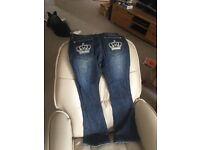 Victoria Beckham ladies jeans,size 27