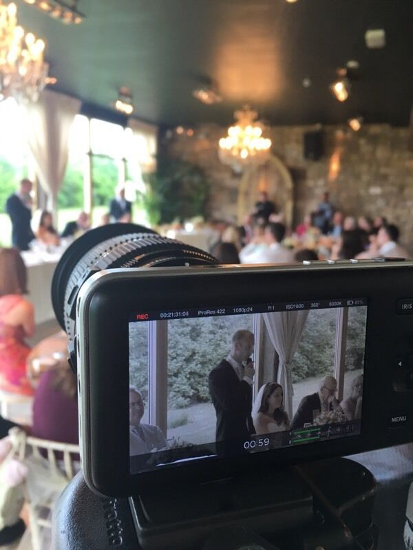 £300 off peak wedding videography from now until March 31 2017.