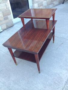 "Vintage ""Gibbard"" Mahogany End Table"