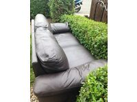 Leather sofa need gone asp free
