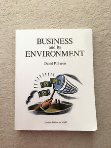 Nait business textbook-COMM3340 Business and Its Environment