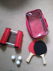 Two Player Table Tennis Set