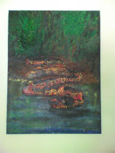 """""""SNAKE"""" painting"""