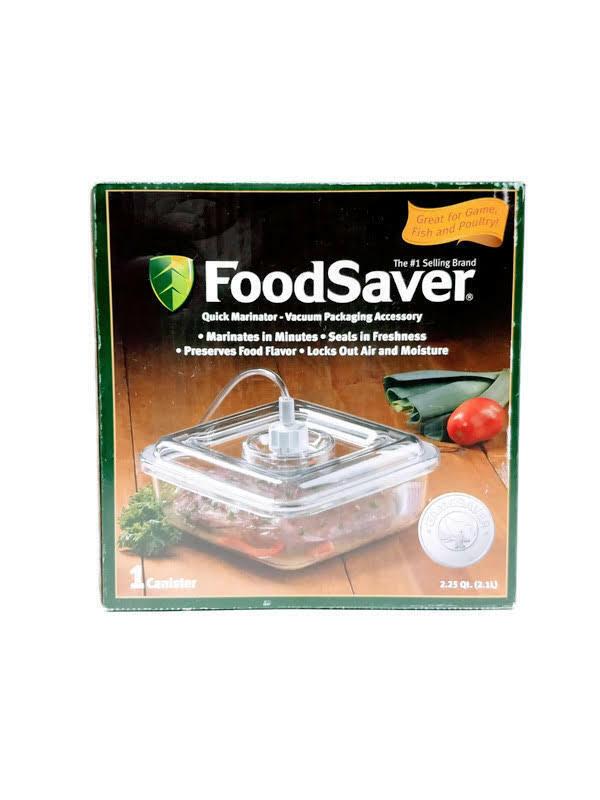FoodSaver GameSaver Quick Marinator T020-00085-P02