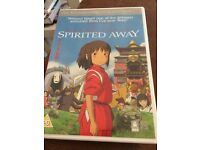 Spirited away region 2 dvd