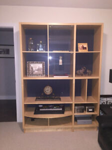 Wall unit with TV stand built in - Great condition.