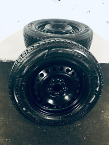 Goodyear Ultra Grip Ice Winter Tires on Rims