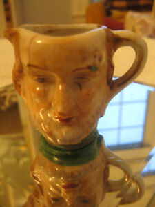 VERY OLD VINTAGE JAPANESE MINI-SIZED TOBY JUG