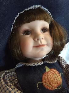 """Ashton Drake Limited Edition Doll: """"Autumn Joy"""""""