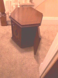 Free Hexagon End Table