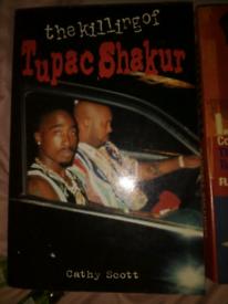 Two tupac and biggie books.