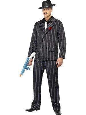 Mafia Gangster Anzug Herren Kostüm ()