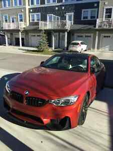 FS:2015 BMW M4 Frozen Red Individual Launch Pck (Price reduced)!