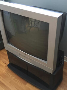 "32"" RCA TV with console (cabinet)!"