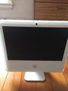 """iMac 17"""" Core 2 Duo - FOR PARTS"""