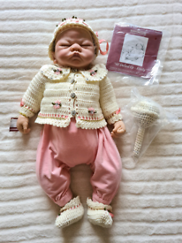 Ashton Drake Galleries 'All Dolled Up Emily' baby doll collectable