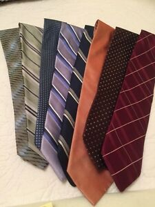 Various men's ties all excellent condition