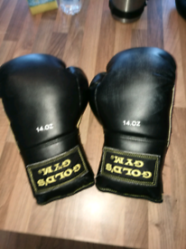 Golds Gym Sparring Gloves 14.oz *As New*