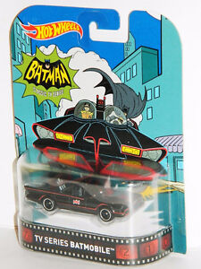 Hot Wheels Retro 1/64 Batman TV Series Batmobile Diecast Car