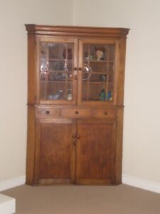 Antique Canadiana Pine Hutch for sale