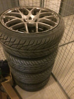 Tires and mags almost new 275/30/19 & 235/35/19 (514) 995-8107