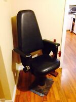 Vintage 1960's Caboose Seat, Cool Spacey and Comfortable Decor'