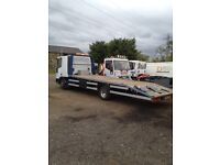 Iveco sleeper cab recovery truck