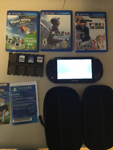 PS Vita Slim mint condition, 8GB and 3 games