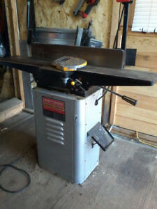 craftsman 1  1/2hp planer/jointer
