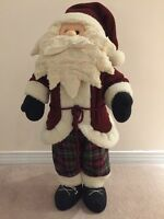 Fabric Santa - 27 inches Tall