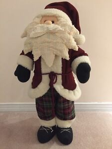 Fabric Santa - 27 inches Tall West Island Greater Montréal image 1