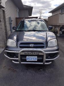 2005 Hyundai Santa Fe GL w/ABS Pkg SUV, Crossover