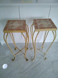 End tables for lounge or bedside
