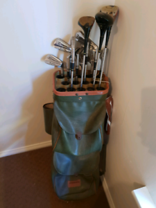 Wanted: Golf clubs and bag