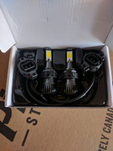 H16 / PSX24W Dual Color LED Fog Lights - Brand New