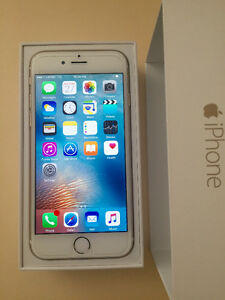 iPhone 6 64GB White Gold Bell/Virgin Excellent Condition