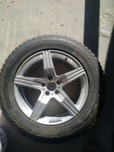 New Cheap Snow tires and Rims Mercedes Benz 2011 gl350
