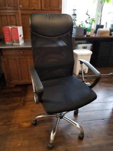 Office Chair w/ Upgraded wheels for hardwood floor