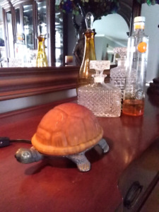 Turtle tiffany accent nighy light lampe lamp