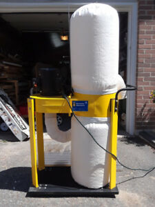 WORKSHOP DUST COLLECTOR WITH ATTACHMENTS