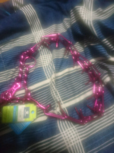 Top paw snap on chain collar (brand new)