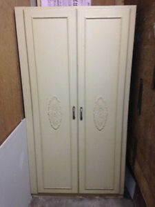 Wood Armoire - Cupboard