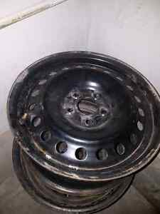 4 steel rims 16 inch 5 bolt