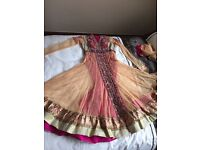 Pink Asian wedding suit
