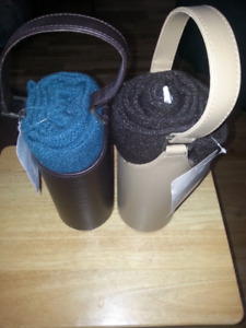 Wine totes with blanket ( new )